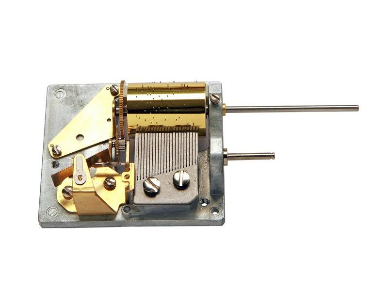 22 Note Cuckoo Clock Musical Mechanism
