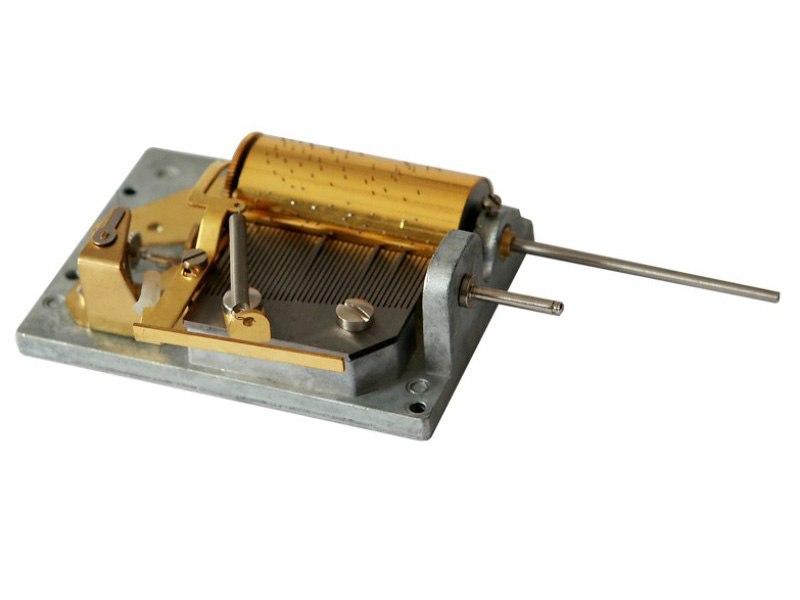 37 note Cuckoo Clock Musical mechanism