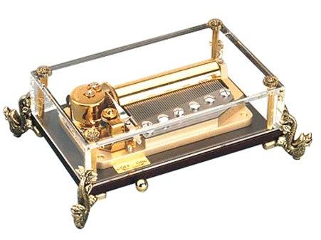 Delxue Crystal Music Box