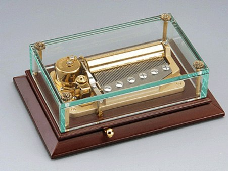 Luxury Glass Music Boxes