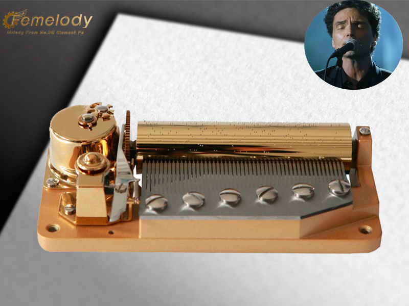 Deluxe 50 note musical box tune Right Here Waiting Richard Marx