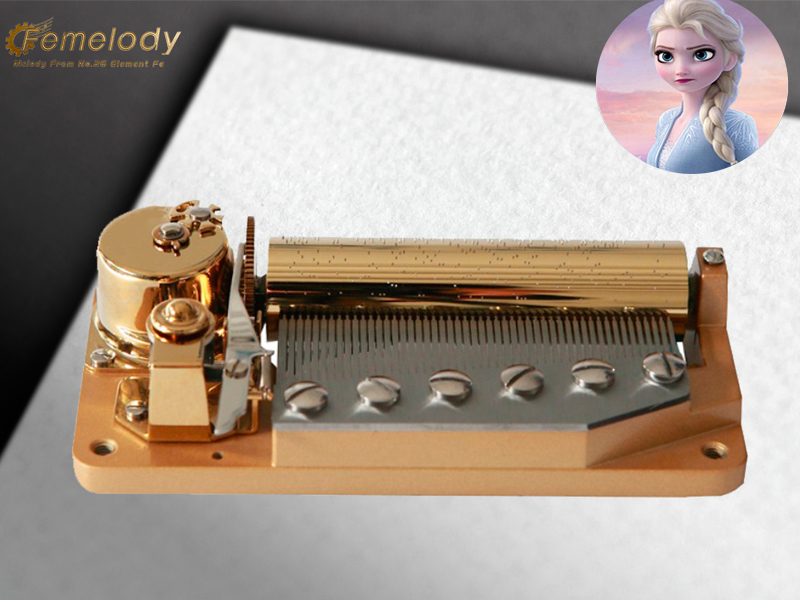 50 note music box tune LET IT GO
