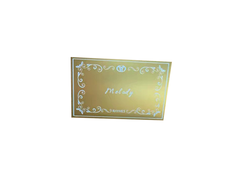 Custom solid brass plaque for wood box gifts