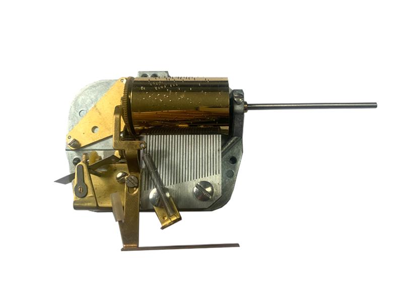 28 note Cuckoo clock Musical mechanism