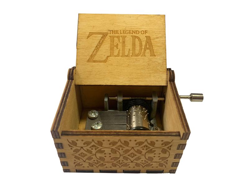 18 note hand crank music box theme ZELDA