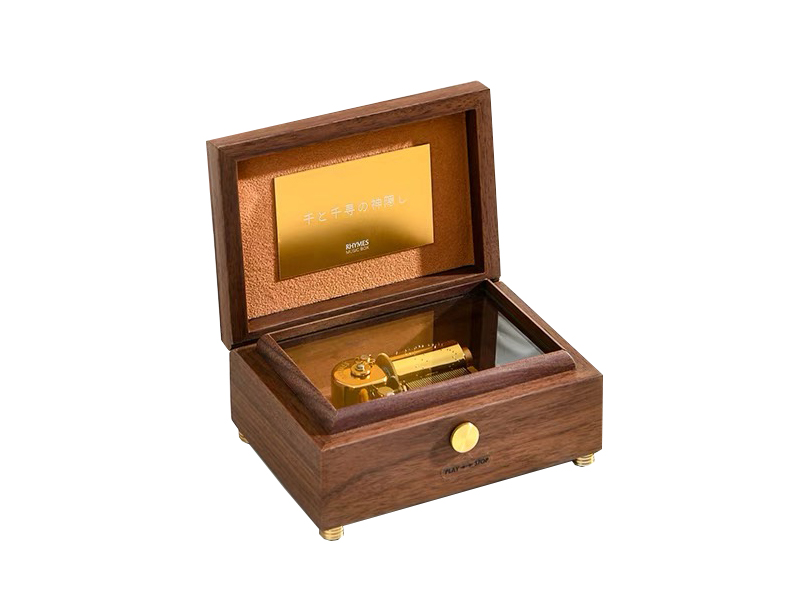 Deluxe 30 note wood music box