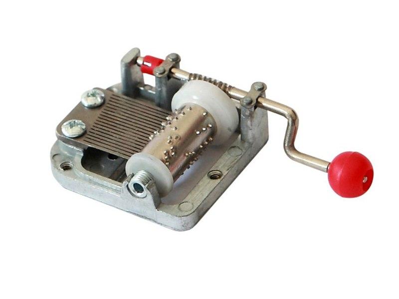 Miniature Hand crank Music Box Musical Mechanism