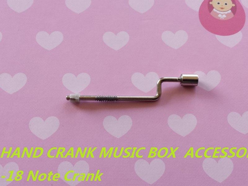 Music Box Replacement Crank Handle