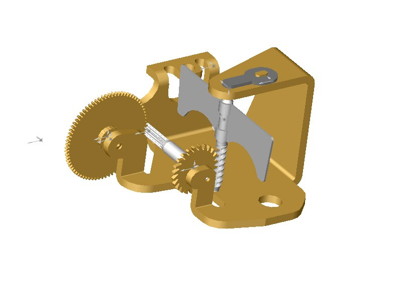Music Box Replacement Speed Friction Governor