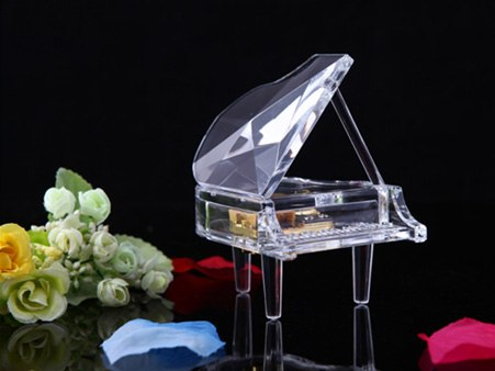 Piano Acrylic Music Box