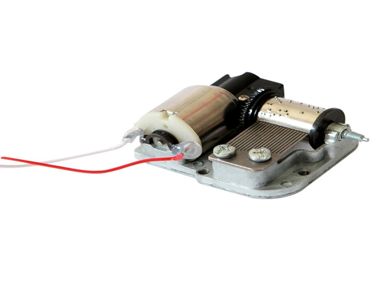 Rotating Shaft Electric Drive Music Box Movement
