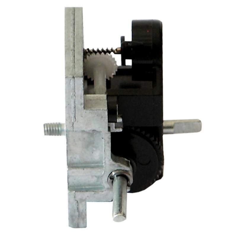 Clockwork Spring Mechanism Output Movement Axis