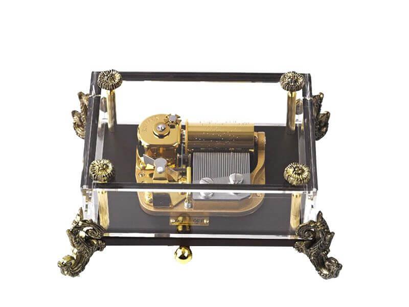 Clear Music Box